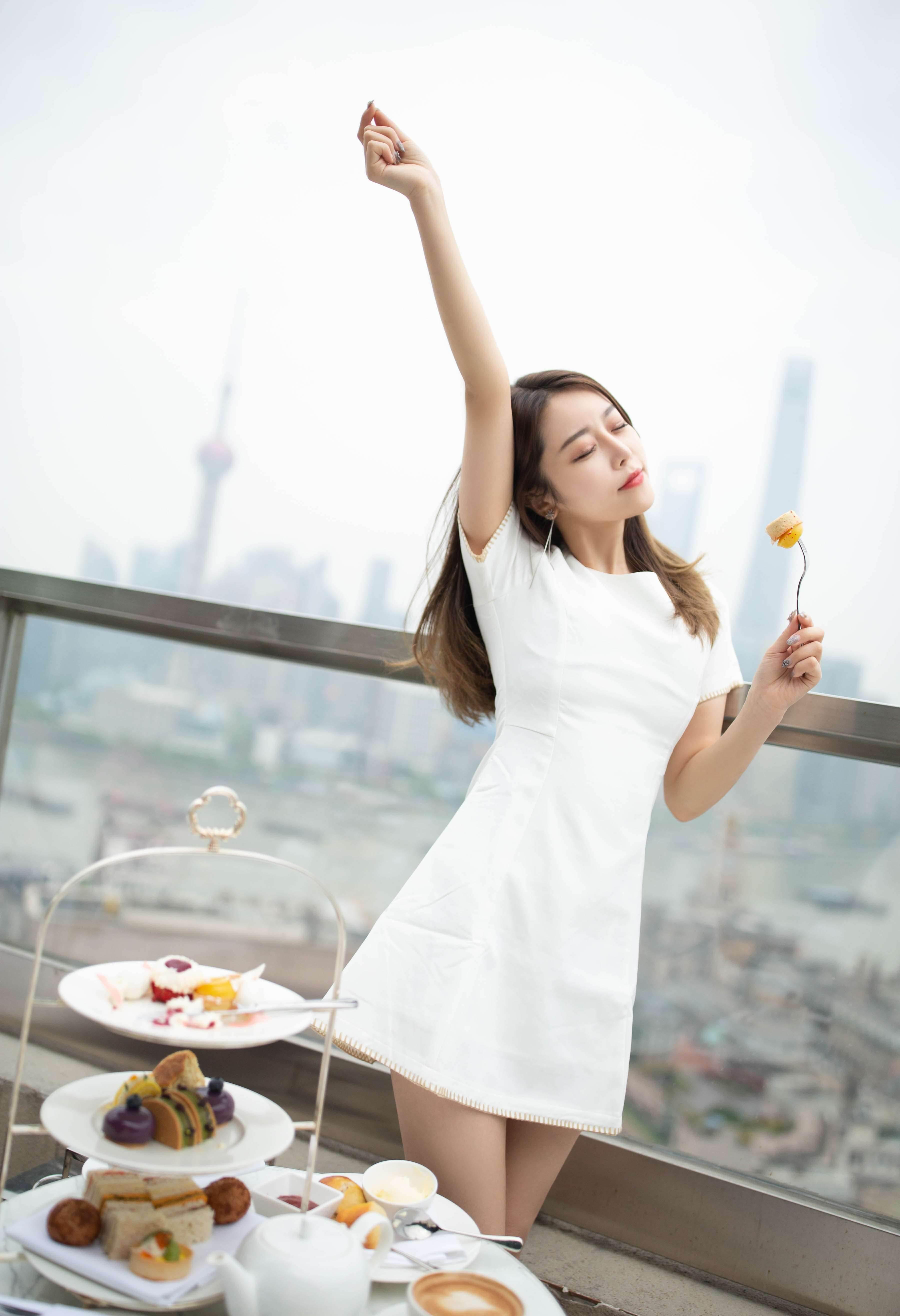 第61期女友的下午茶夏诗诗(丝袜,高跟)_图片3