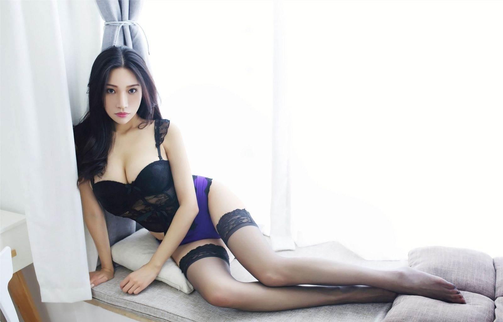 第119期诱人黑丝小狐狸(黑丝,性感内衣)_图片1
