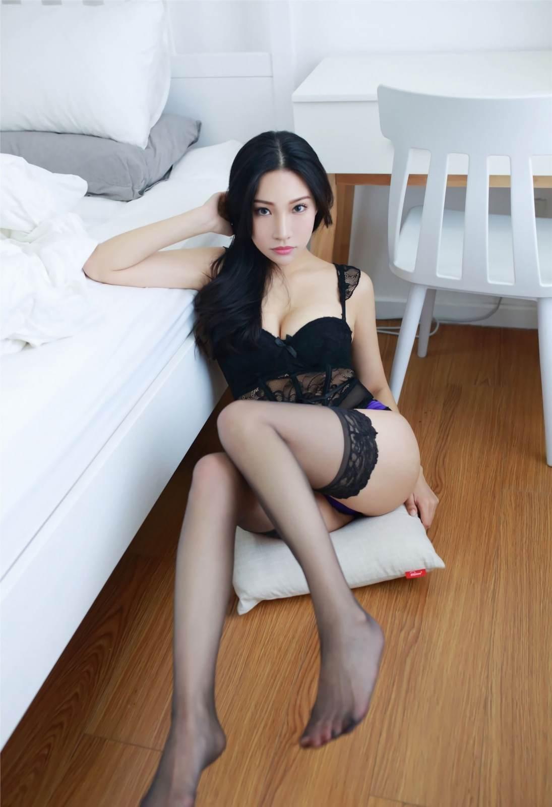 第119期诱人黑丝小狐狸(黑丝,性感内衣)_图片5