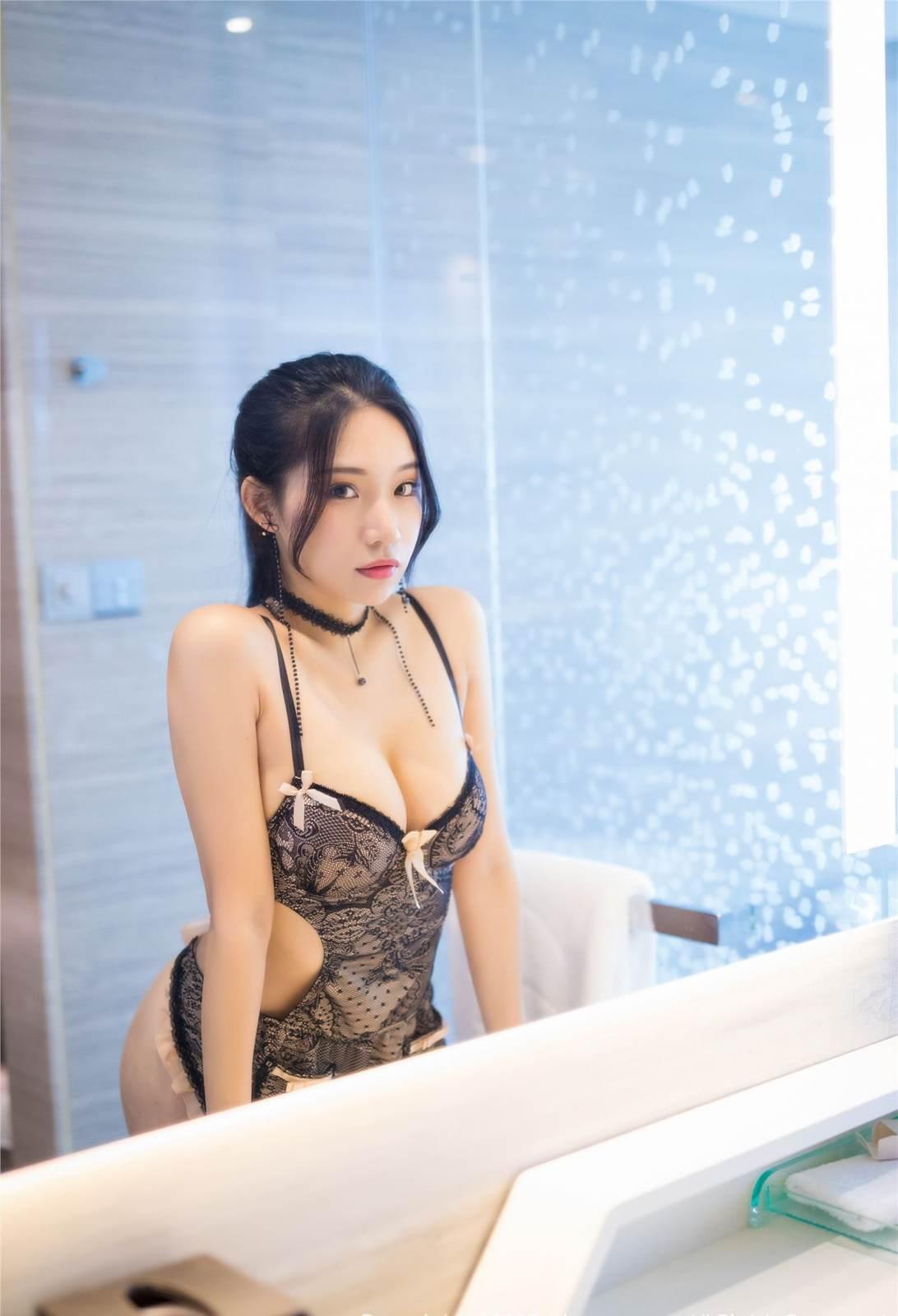 第120期性感女仆装小狐狸(蕾丝女仆装)_图片2