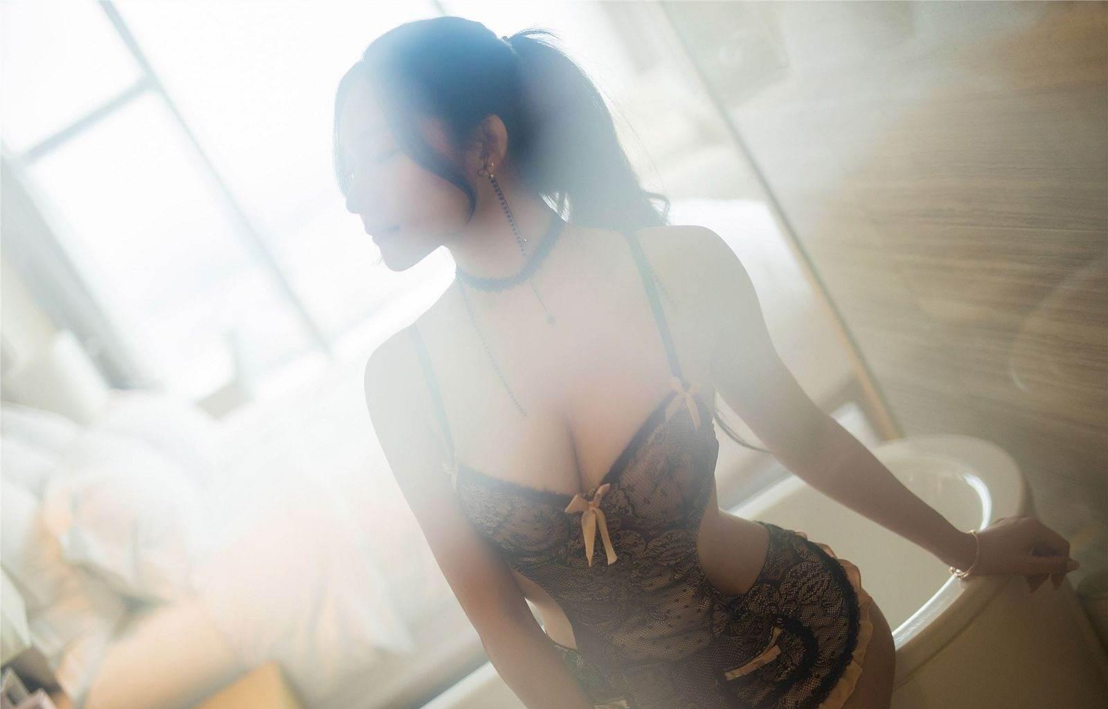 第120期性感女仆装小狐狸(蕾丝女仆装)_图片3