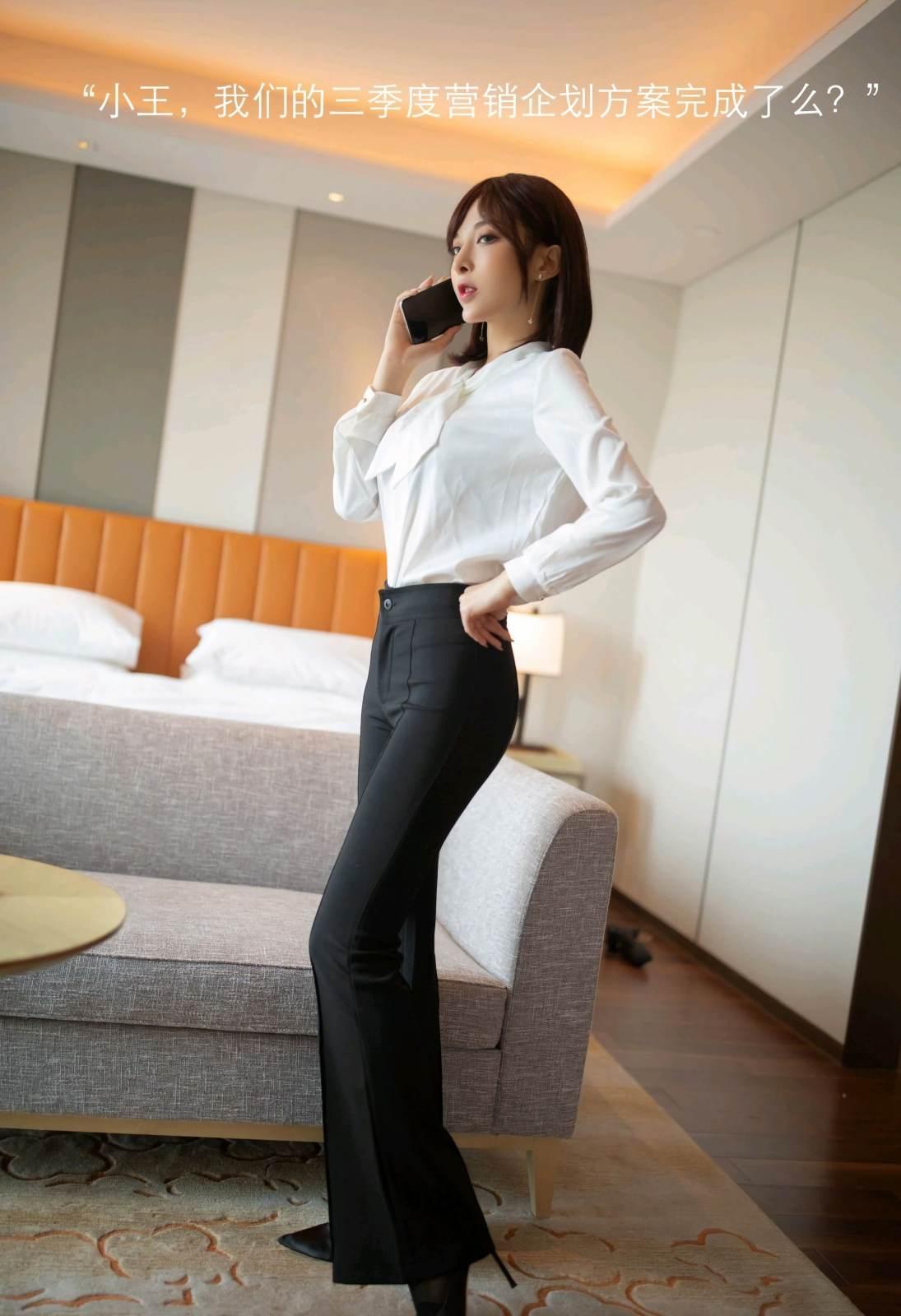 第169期公司女老板查岗陈小喵(高跟,丝袜)_图片1