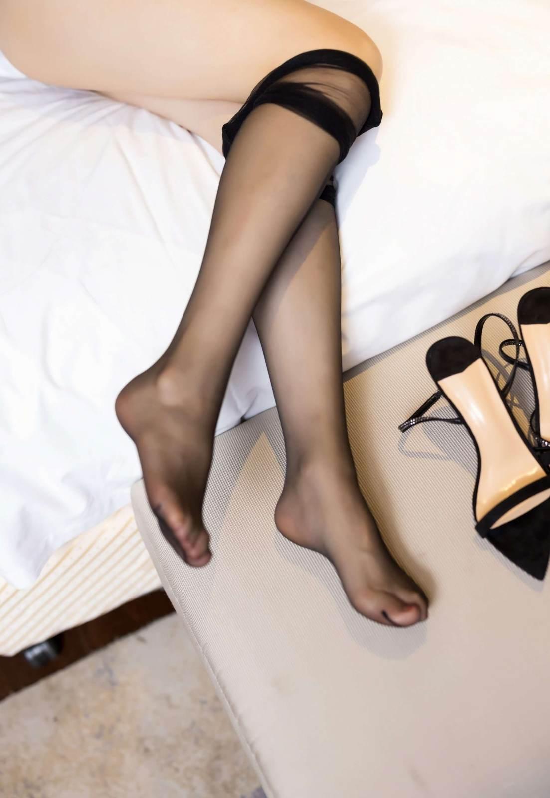 第190期长腿黑丝写真照言沫(黑丝,高跟,大长腿)_图片7