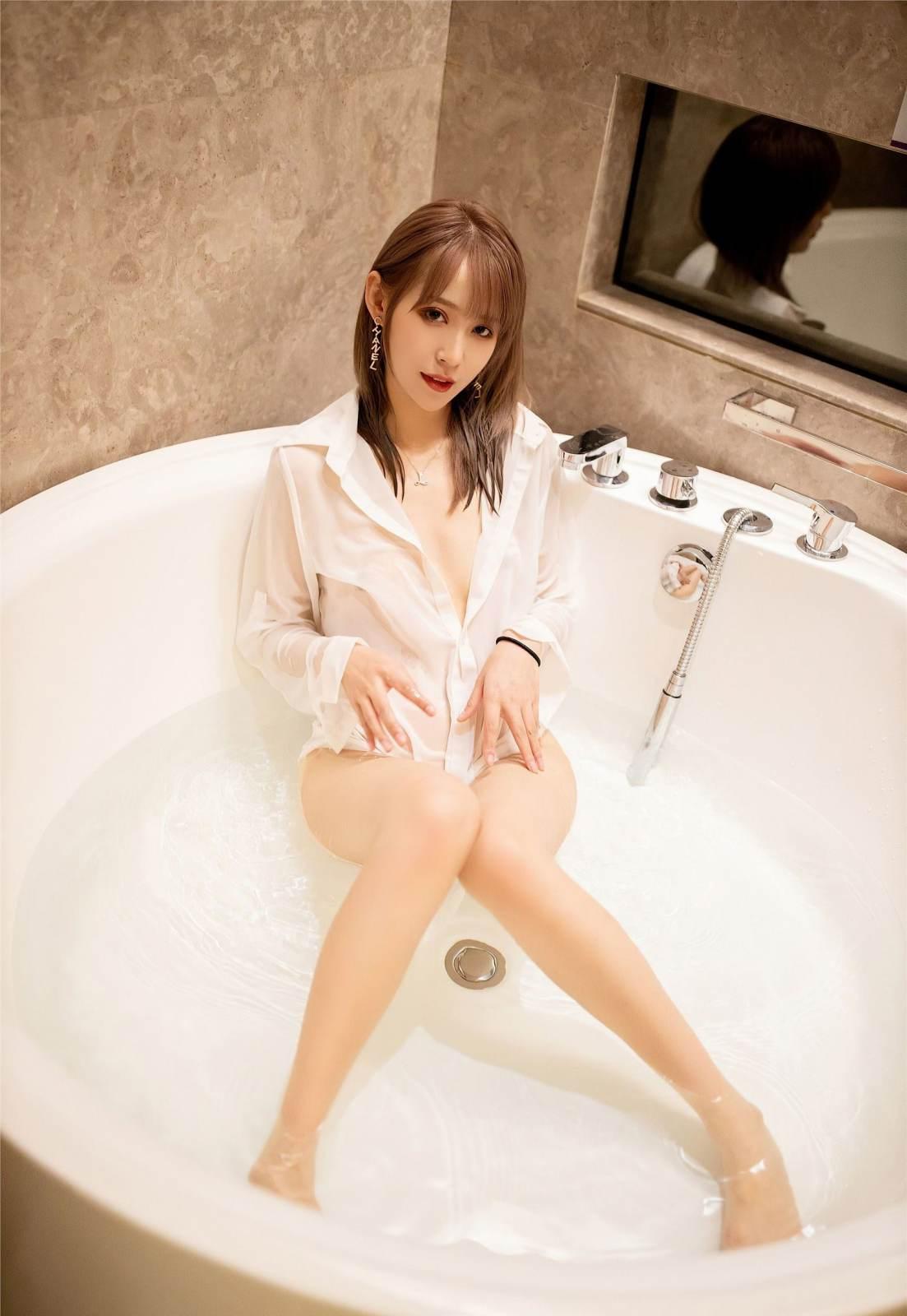 第207期沉鱼落雁周慕汐(长腿,衬衫)_图片5