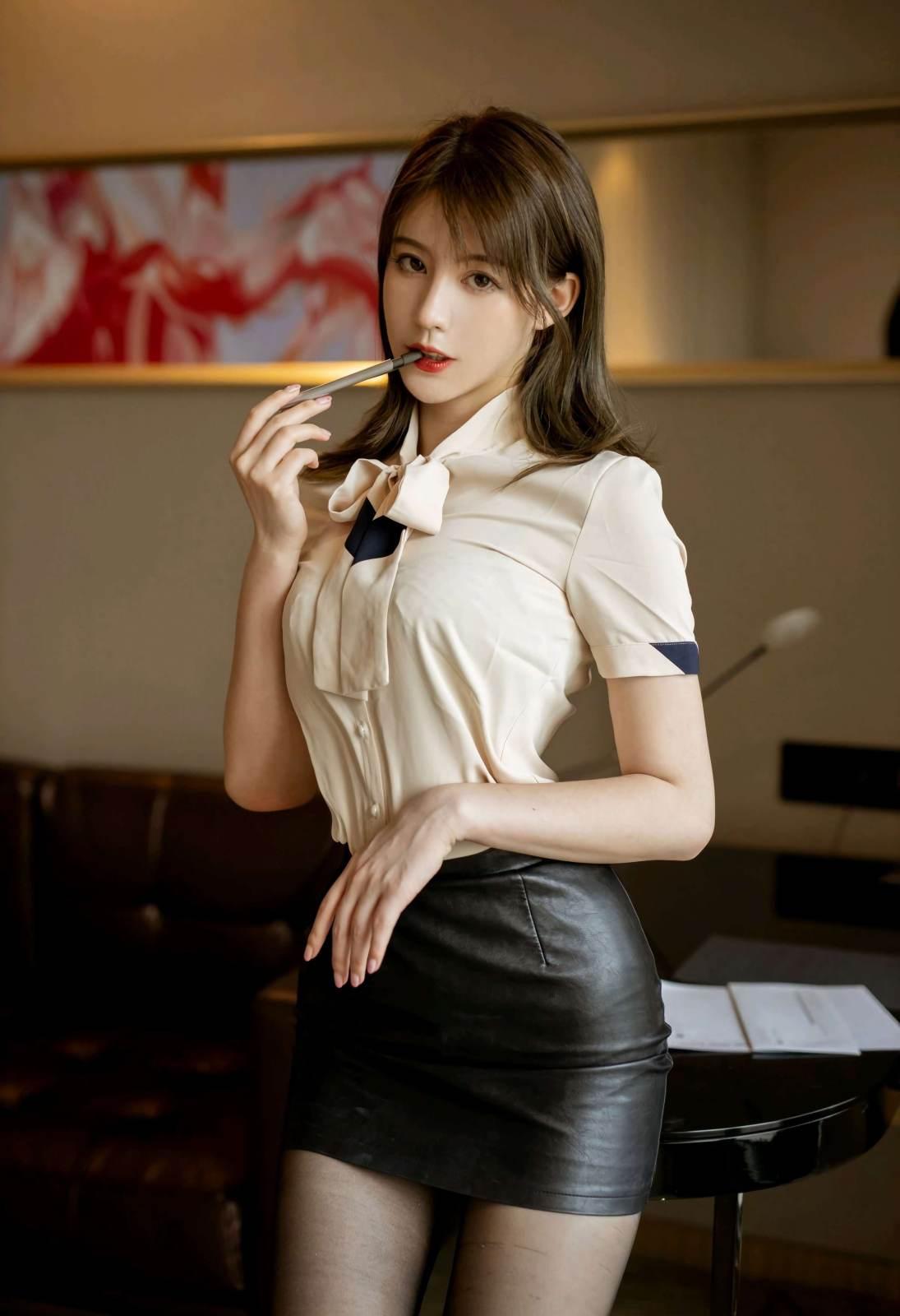 第209期明艳动人优优(高跟,黑丝,丝袜,连体丝袜)_图片3