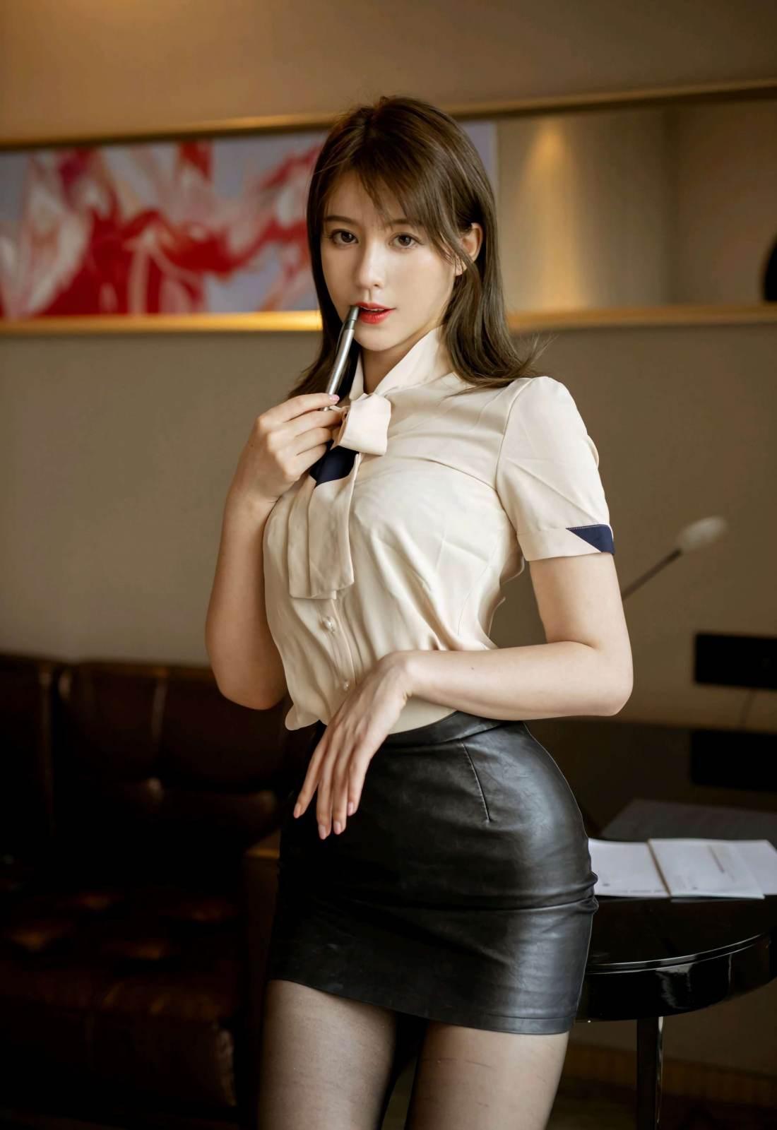第209期明艳动人优优(高跟,黑丝,丝袜,连体丝袜)_图片4
