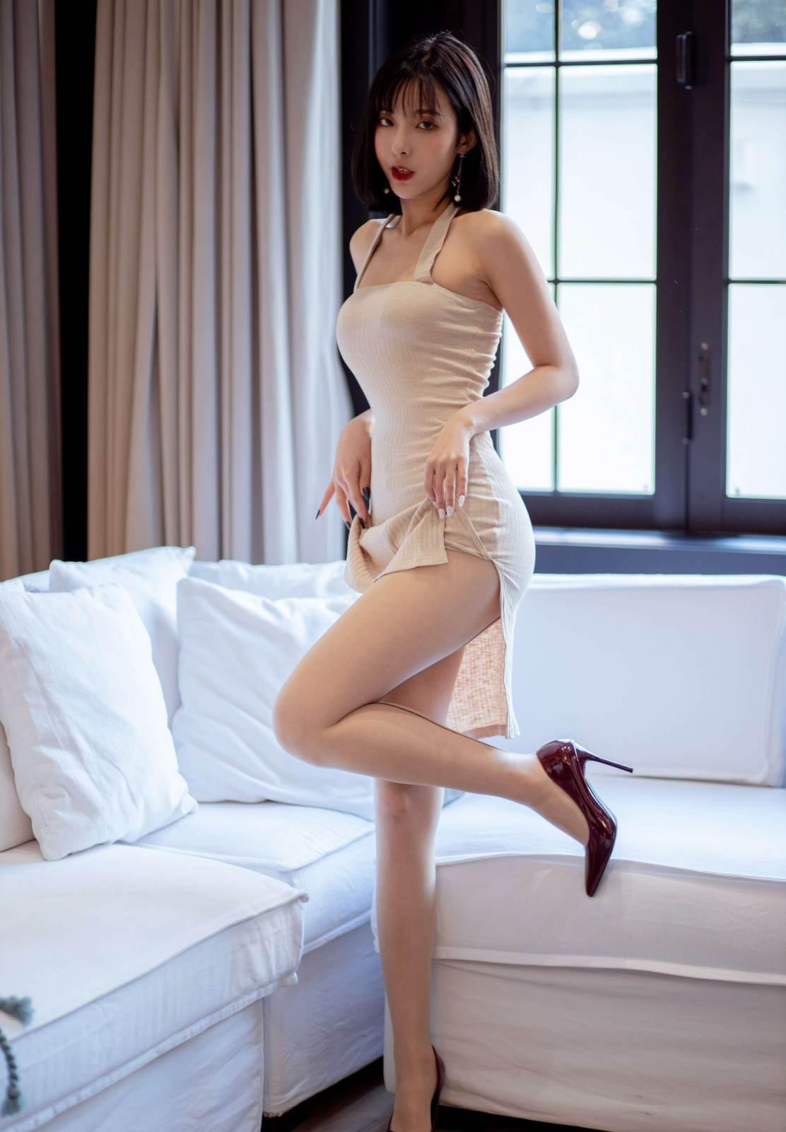 第231期丰韵娉婷似贵妃陈小喵(高跟,丝袜,肉丝)_图片3