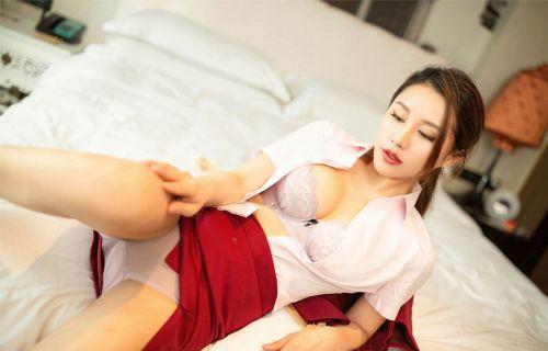 第333期—肌妙肤,弱骨纤形。徐安安(高跟,制服,丝袜,美腿,丝足,肉丝)